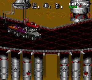 Rock n' Roll Racing Review - Screenshot 2 of 3