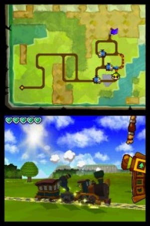 The Legend of Zelda: Spirit Tracks Review - Screenshot 1 of 3