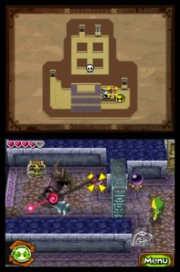 The Legend of Zelda: Spirit Tracks Screenshot