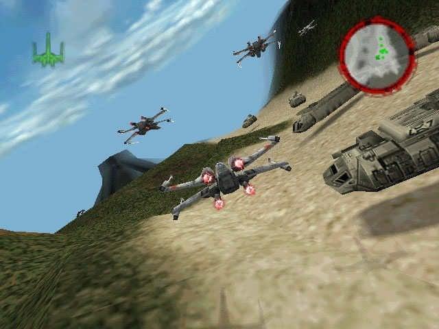 Star Wars: Rogue Squadron Screenshot