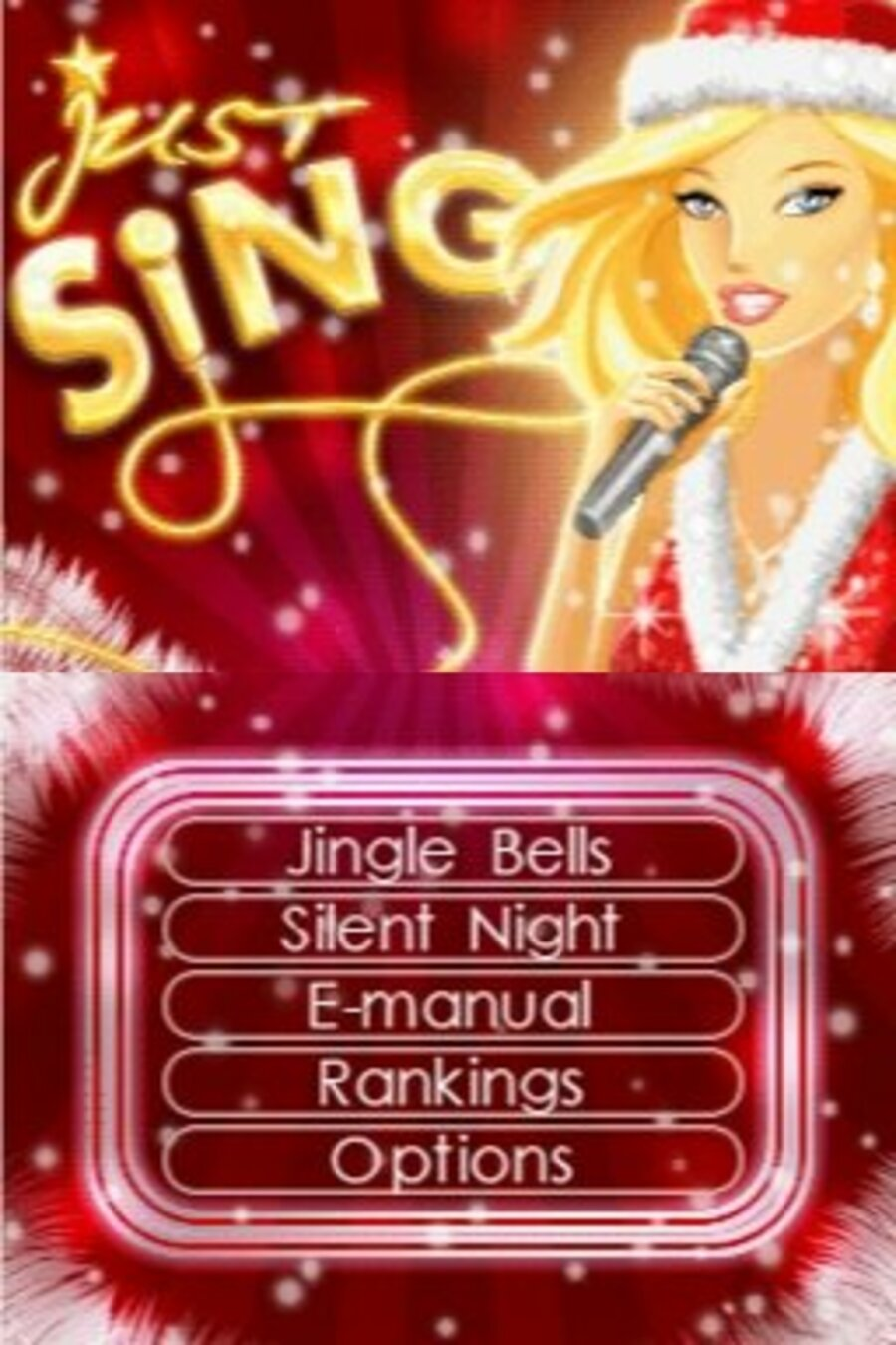 Just Sing! Christmas Songs Screenshot