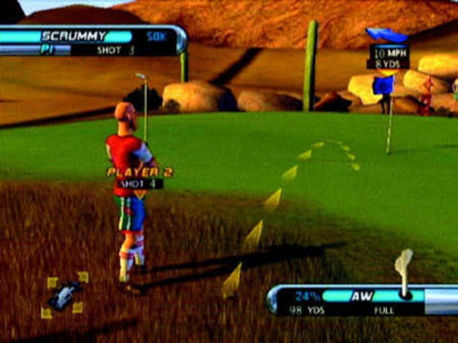 Outlaw Golf Screenshot