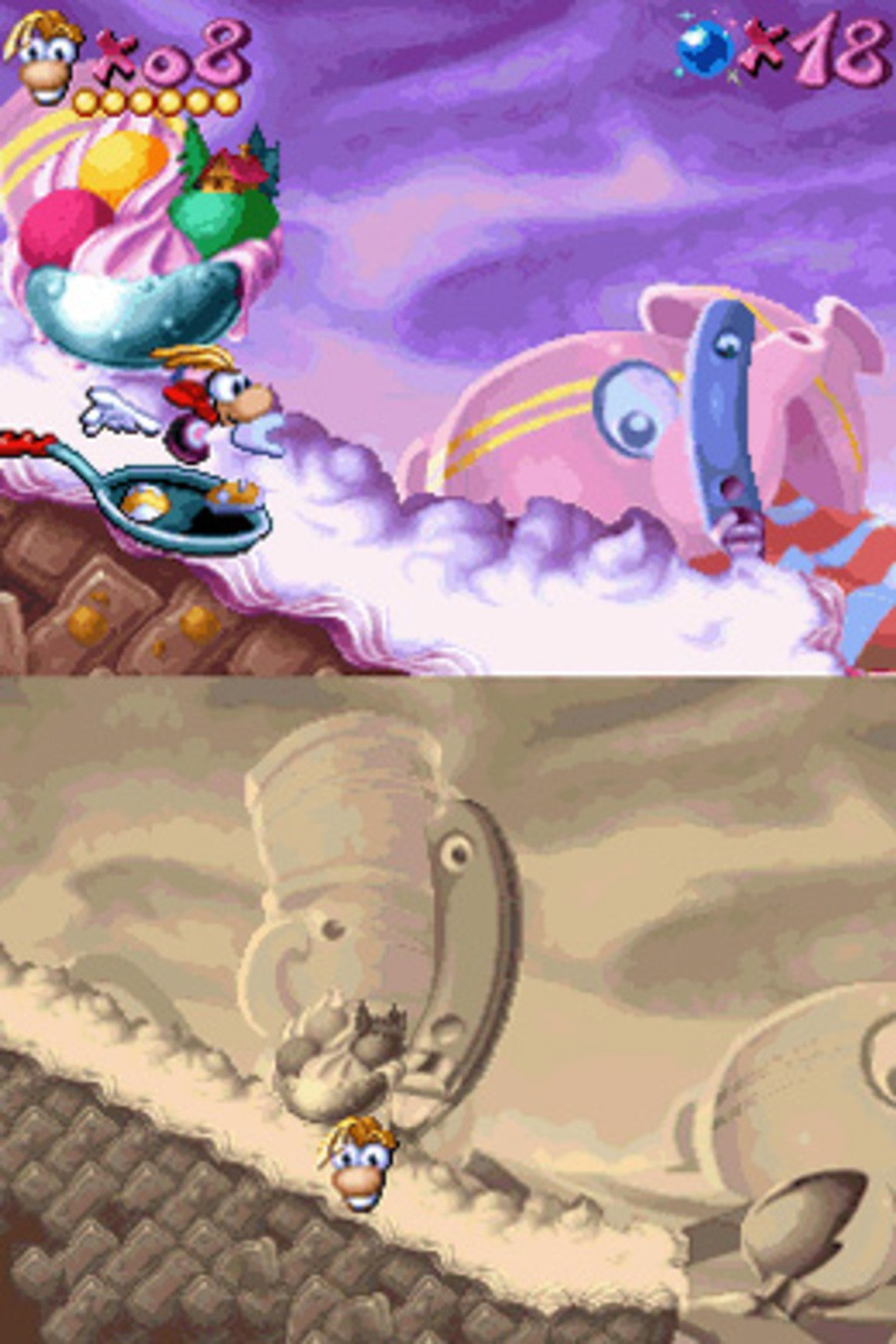 Rayman Screenshot
