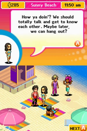 Miami Nights: Life in the Spotlight Review - Screenshot 2 of 3