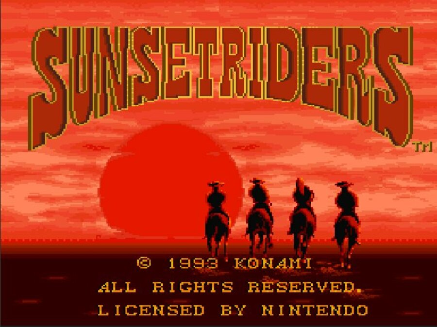 Sunset Riders Screenshot