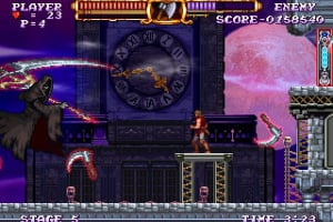Castlevania The Adventure ReBirth Screenshot