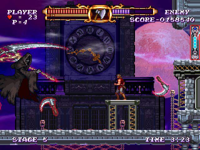 Castlevania The Adventure ReBirth Screenshot