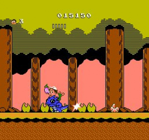 Adventure Island II Review - Screenshot 2 of 5