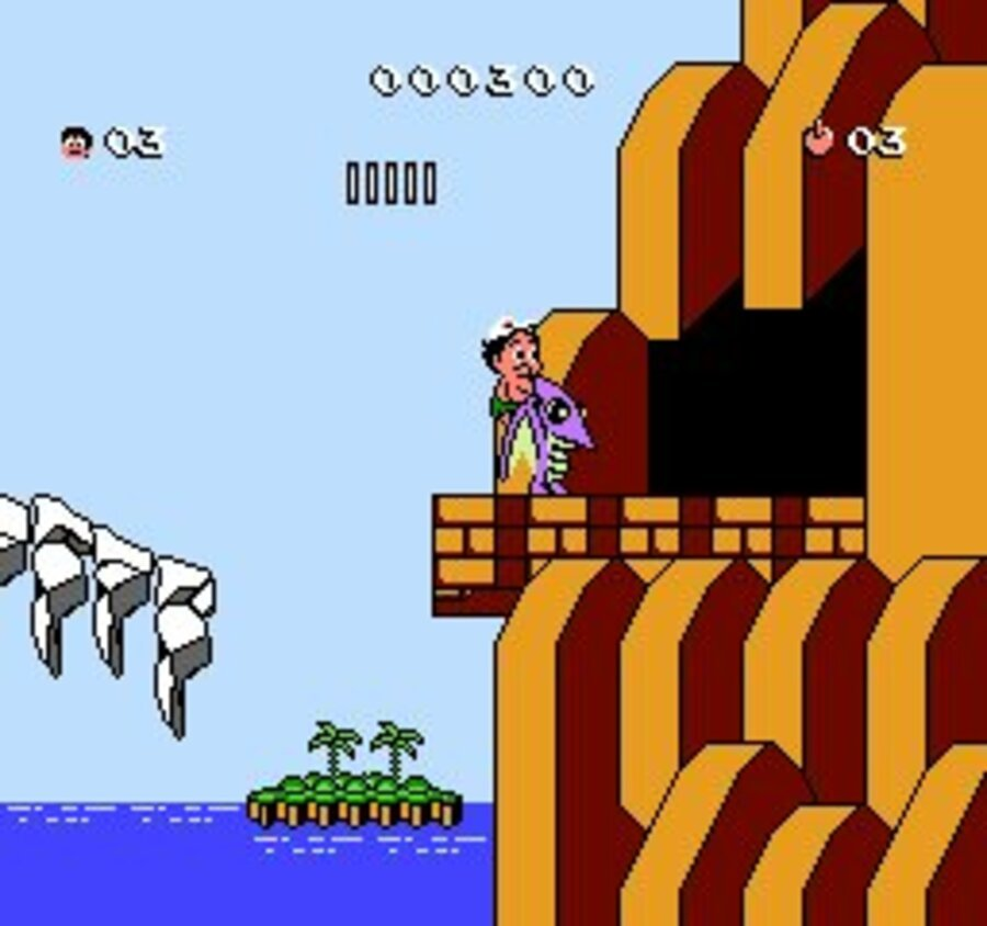 Adventure Island III Screenshot