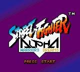 Street Fighter Alpha: Warriors' Dreams Screenshot