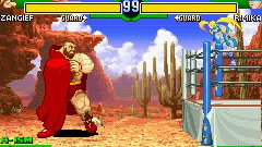 Street Fighter Alpha 3 Screenshot