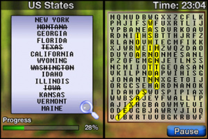 Word Searcher Review - Screenshot 1 of 2