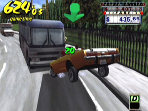 Crazy Taxi Review - Screenshot 2 of 3