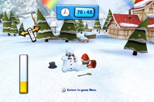 Hubert the Teddy Bear: Winter Games Screenshot