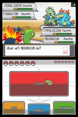 Pokémon HeartGold & SoulSilver Screenshot