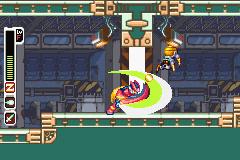 Mega Man Zero Collection Screenshot