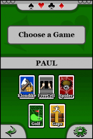 5 in 1 Solitaire Review - Screenshot 1 of 3