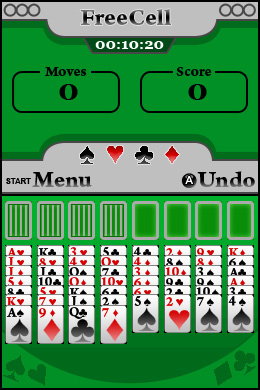 5 in 1 Solitaire Screenshot