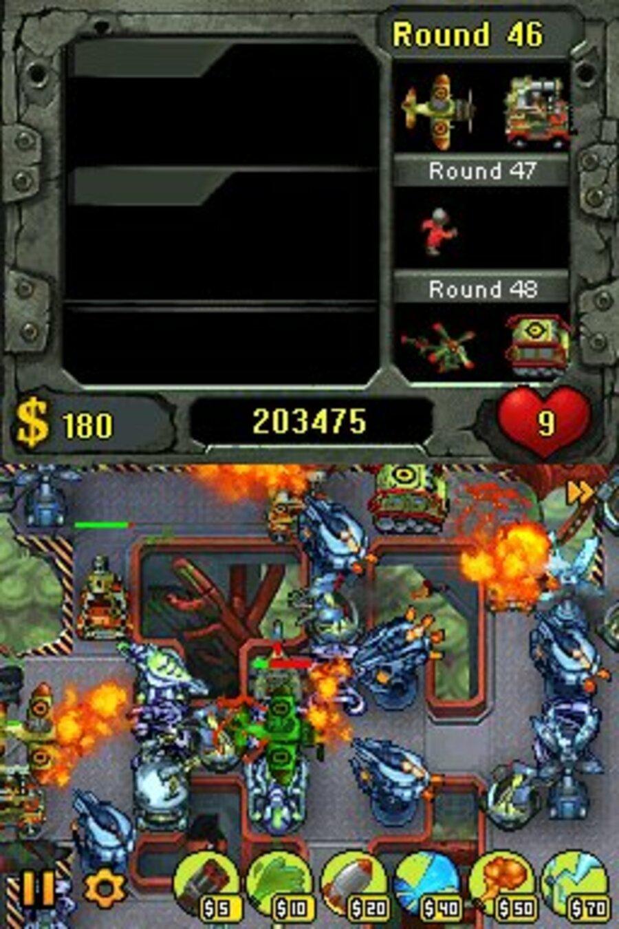Fieldrunners Screenshot