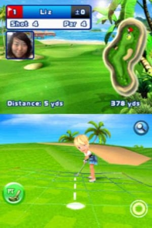 Let's Golf! Review - Screenshot 2 of 3