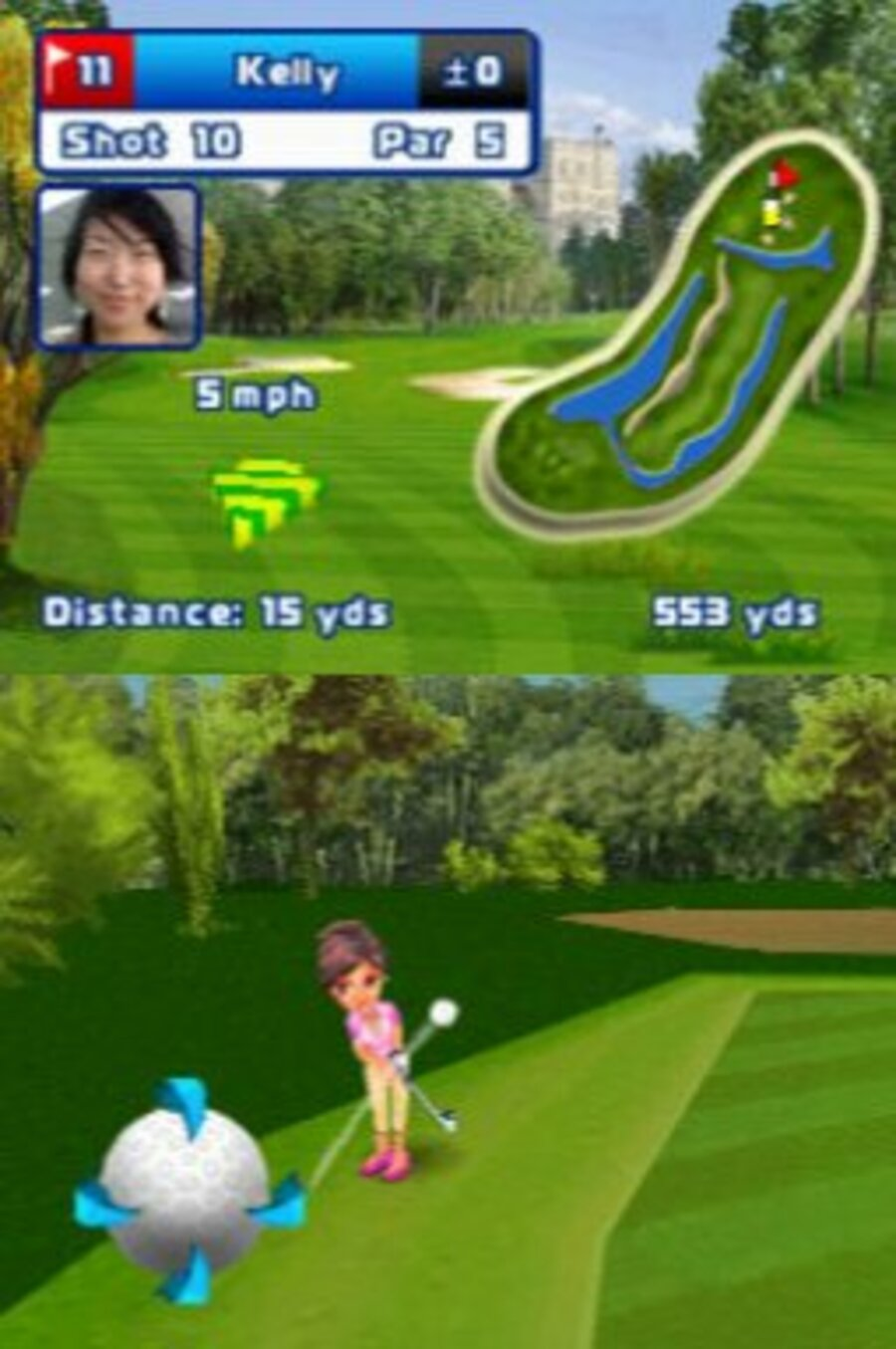 Let's Golf! Screenshot