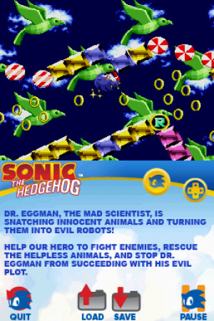 Sonic Classic Collection Review - Screenshot 1 of 3