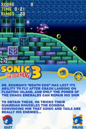 Sonic Classic Collection Review - Screenshot 2 of 3