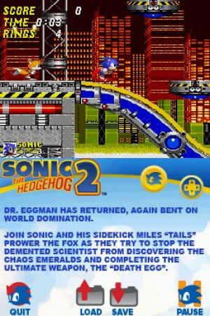 Sonic Classic Collection Review - Screenshot 3 of 3