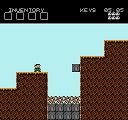 Battle Kid: Fortress of Peril Screenshot