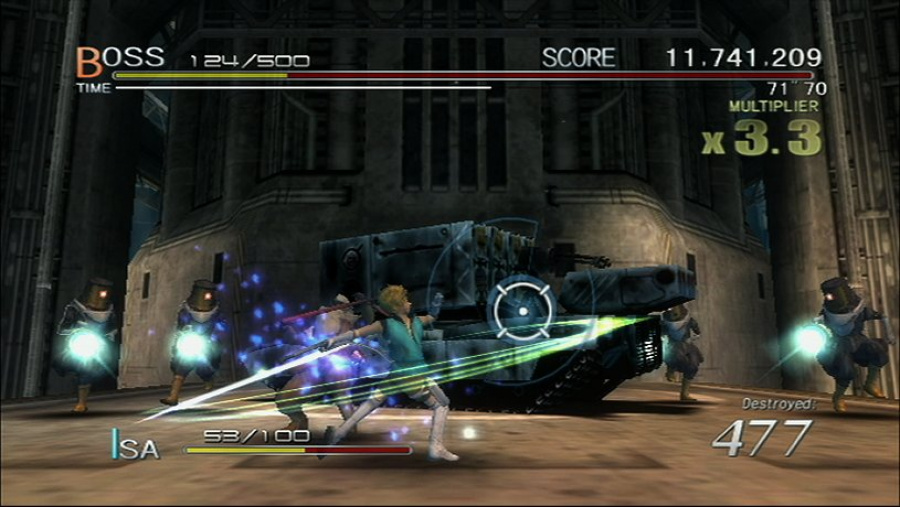 Sin and Punishment: Star Successor Review - Screenshot 2 of 5
