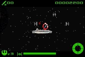 Star Wars: Flight of the Falcon Screenshot