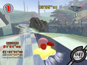 Kirby Air Ride Review - Screenshot 2 of 4