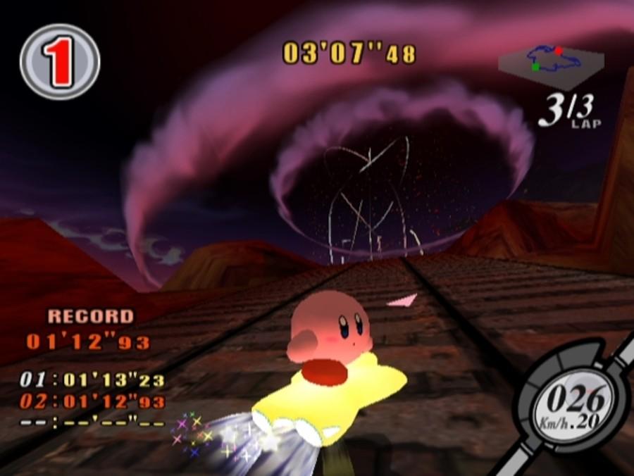 Kirby Air Ride Screenshot
