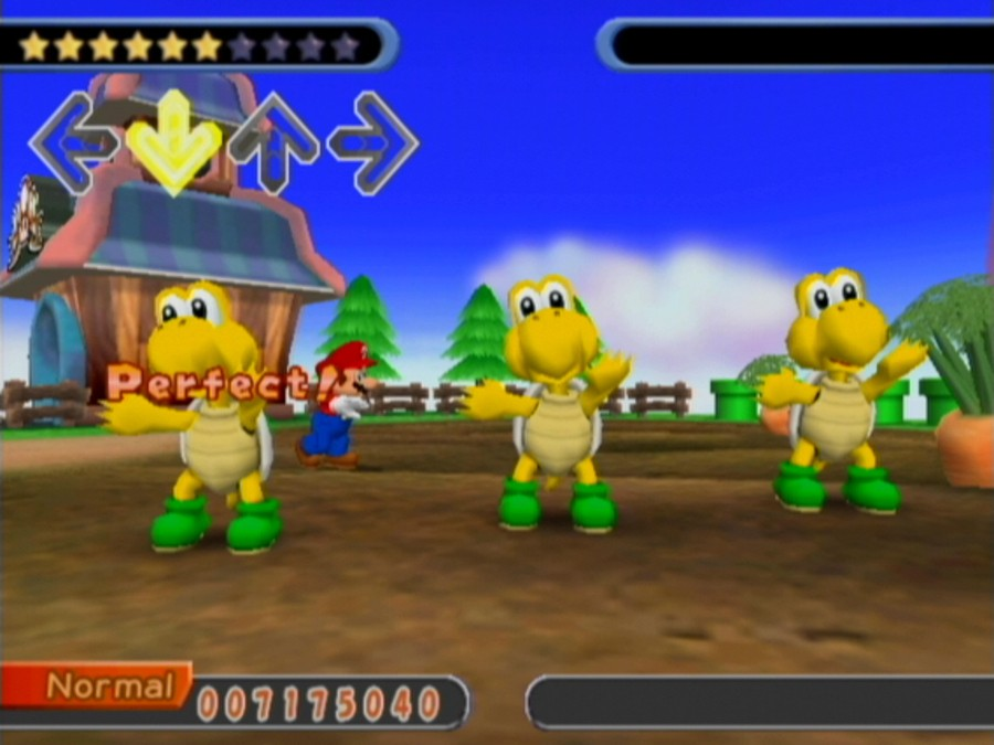Dance Dance Revolution: Mario Mix Screenshot