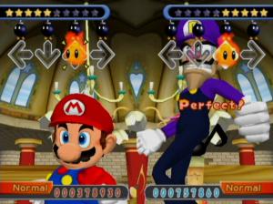 Dance Dance Revolution: Mario Mix Review - Screenshot 2 of 3