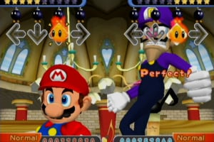 Dance Dance Revolution: Mario Mix Screenshot