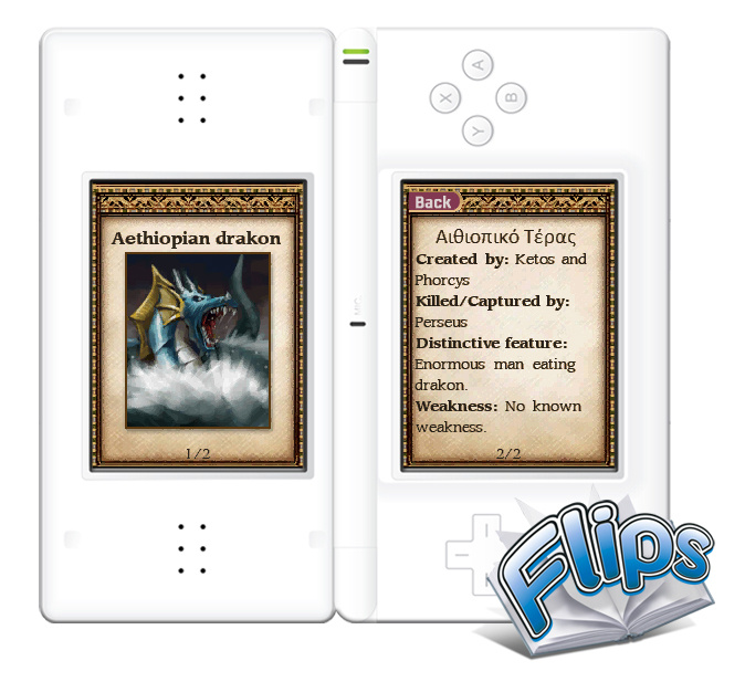 Flips: Percy Jackson Screenshot