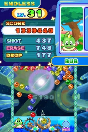 Puzzle Bobble Galaxy Review - Screenshot 2 of 3
