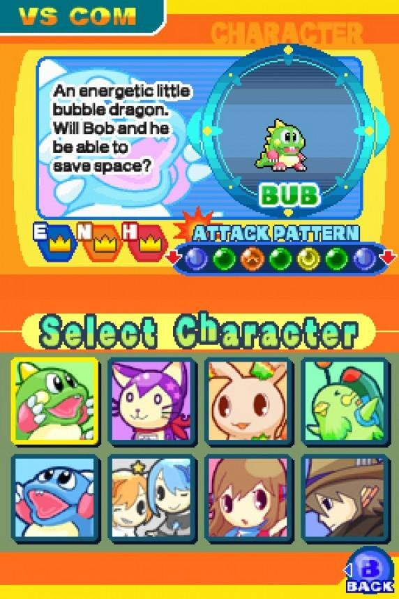 Puzzle Bobble Galaxy Screenshot