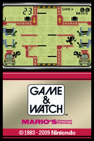 Game & Watch Mario's Cement Factory Review - Screenshot 2 of 2