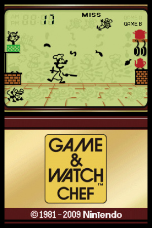 Game & Watch Chef Review - Screenshot 2 of 2