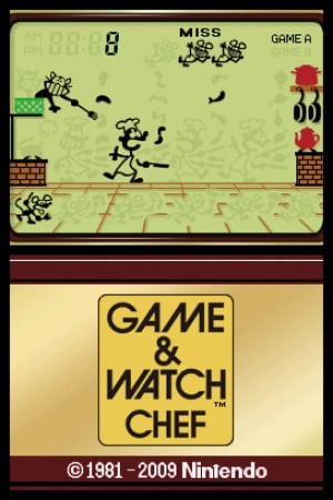 Game & Watch Chef Review - Screenshot 1 of 2