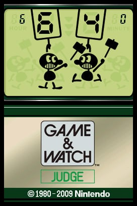 Game & Watch Judge Screenshot