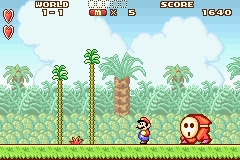 Super Mario Advance Screenshot