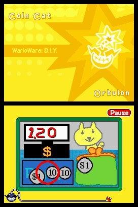 WarioWare: D.I.Y. Screenshot
