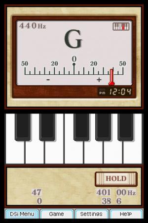 Nintendo DSi Instrument Tuner Review - Screenshot 1 of 2