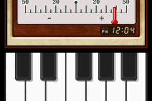 Nintendo DSi Instrument Tuner Screenshot
