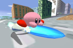 Kirby Air Ride Screenshot