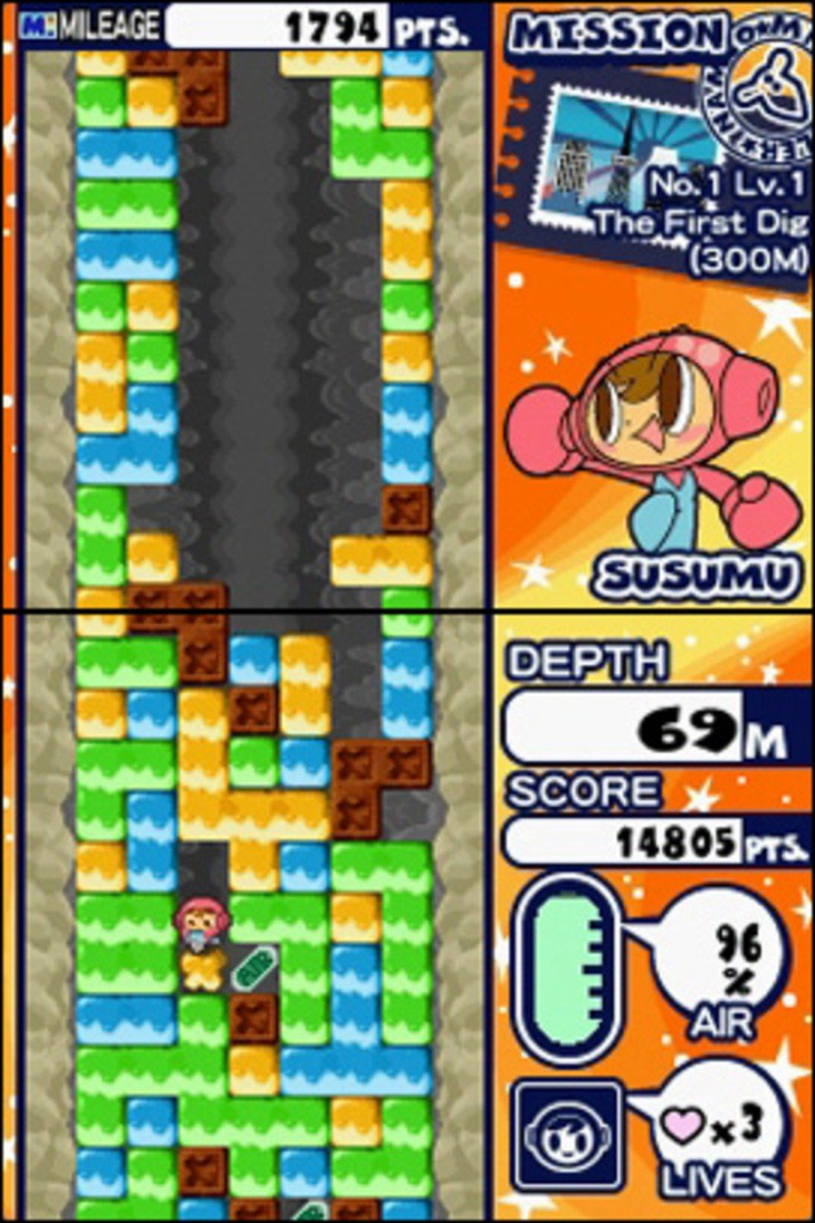 Mr. Driller: Drill Till You Drop Screenshot