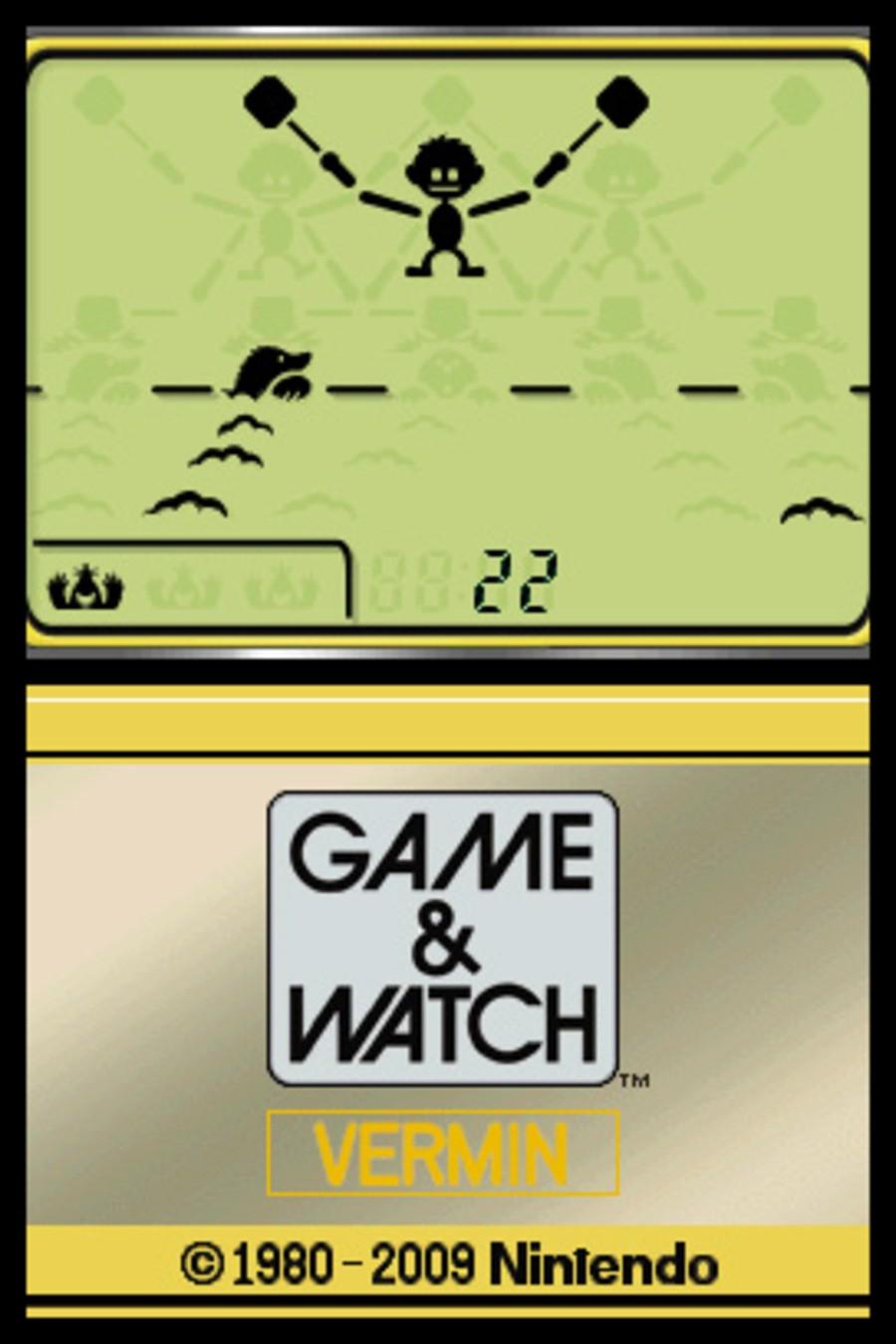 Game & Watch Vermin Screenshot